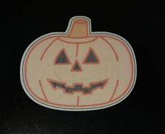 Jack-O-Lantern Designed Silly Patch