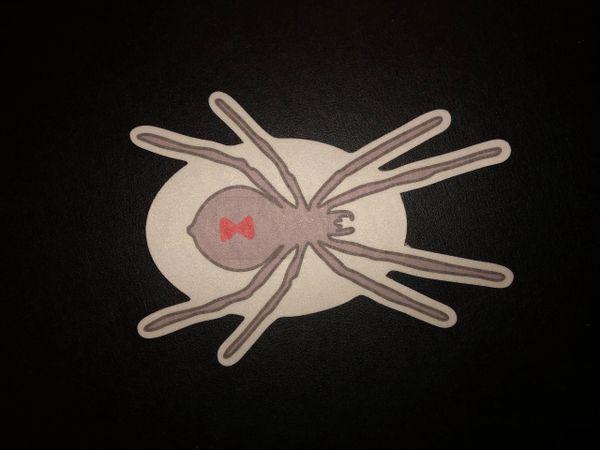 Black Widow Spider Design Silly Patch