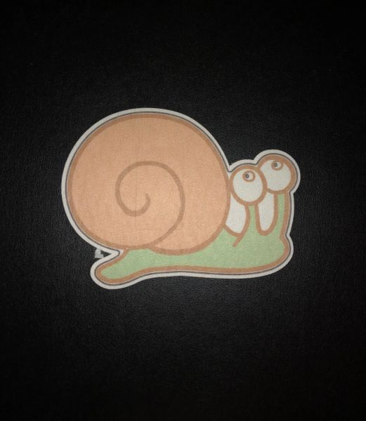 Snail Design Silly Patch