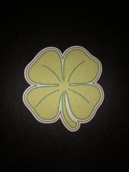 4 Leaf Clover Design Silly Patch