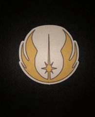 Jedi Symbol Design Silly Patch