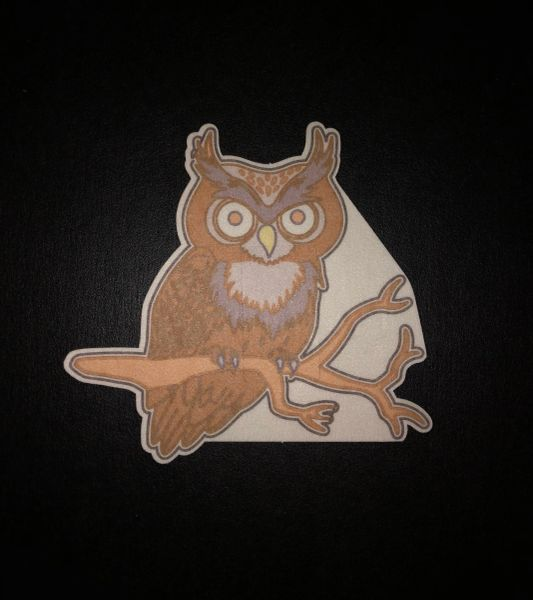 Owl DesignSilly Patch