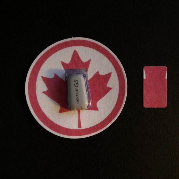 Canadian Leaf Design Silly Patch