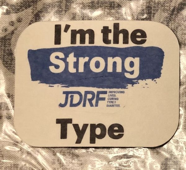 I'm the Type JDRF Design Silly Patch