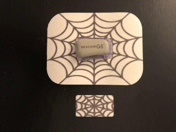 Halloween Spider Web Design Silly Patch