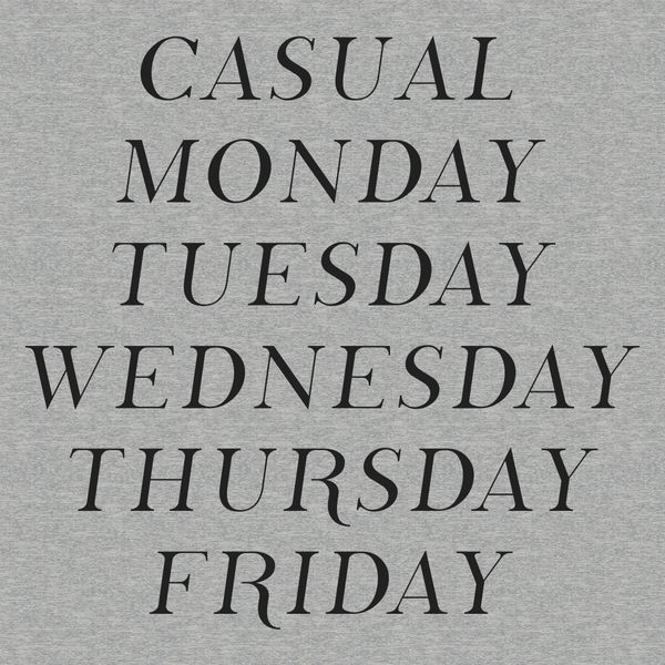 Casual Every Day