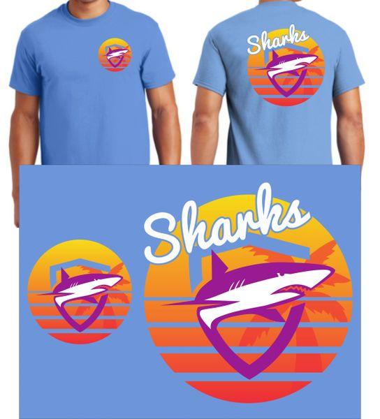 SHARKS ABIGAIL HILLIARD ORIGINAL DESIGN - SUMMER 2020 ADULT