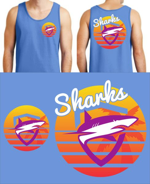 SHARKS ABIGAIL HILLIARD ORIGINAL DESIGN - SUMMER 2020 TANK