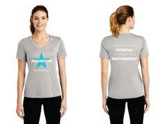 Aquastar - ladies dri fit short sleeve