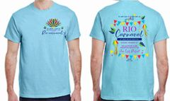Junior League of Galveston County Rio Carnaval Charity Ball short sleeve T-shirt