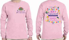 Junior League of Galveston County Rio Carnaval Charity Ball long sleeve shirt
