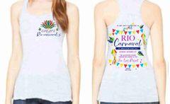 Junior League of Galveston County Rio Carnaval Charity Ball flowy tank