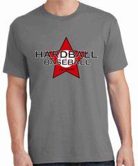 Hardball Academy Baseball Star Logo T-shirts