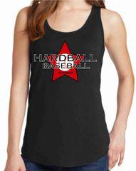 Hardball Academy Baseball Star Logo Women's Tank