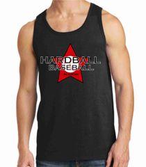 Hardball Academy Baseball Star Logo Men's Tank
