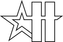 Hardball Academy H Logo Car Sticker