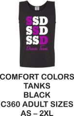STAR STEPPERS FALL 2019 -- SSD DANCE TANKS