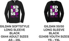 STAR STEPPERS FALL 2019 -- SSD DANCE LONG SLEEVE