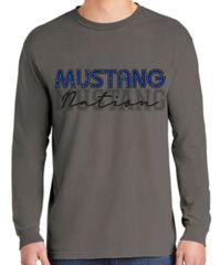 Mustang Nation unisex long sleeve shirt