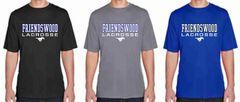 FHS LAX Boys' Short Sleeve Dri-Fit Shirt (Design 1)