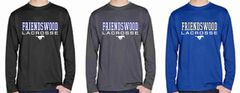 FHS LAX Boys' Long Sleeve Dri-Fit Shirt (Design 1)
