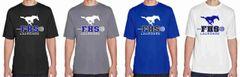 FHS LAX Boys' Short Sleeve Dri-Fit Shirt (Design 2)