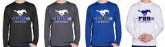 FHS LAX Boys' Long Sleeve Dri-Fit Shirt (Design 2)