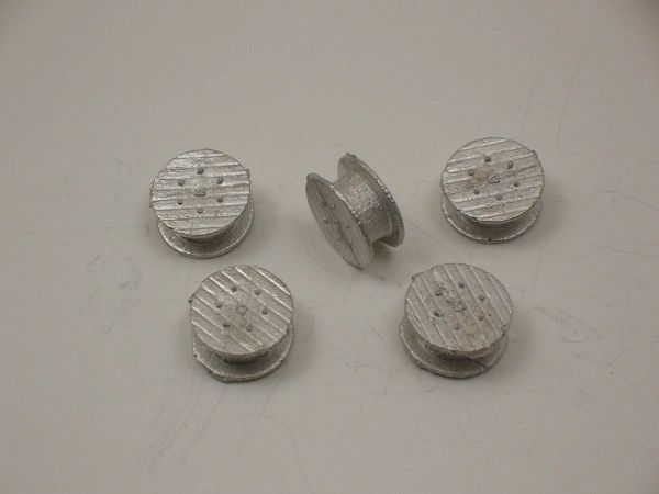 "N Scale 69"" X 31"" Wire Spools"