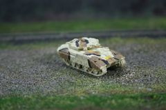 US Army M2 Bradley Armored Personnel Carrier, Desert Camouflage
