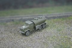 US Army 2 1/2 Ton 6x6 Water Tank Truck, GMC