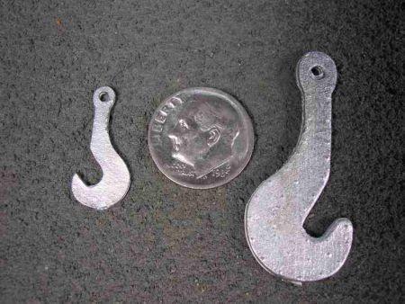 """N Scale """"J"""" Hook"""