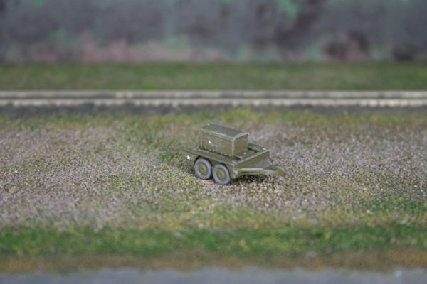 US Army M7 Generating Unit and M7 Trailer