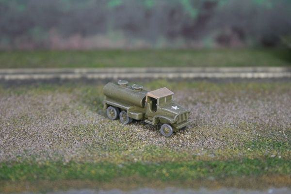 US Army Chevrolet 2 1/2 Ton Water Tank Truck, Canvas Top Cab
