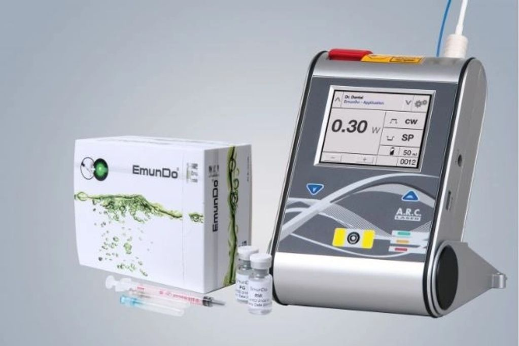 EmunDo product with the FOX 810 diode laser.