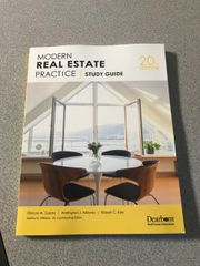 Modern Real Estate Practice Workbook 20th Edition