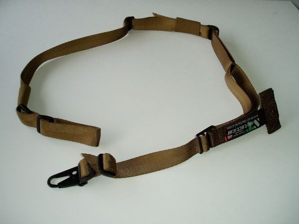 TWO POINT SLING W/ PADDING (COYOTE BROWN)