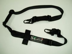 TWO POINT SLING W/ PADDING (BLACK)