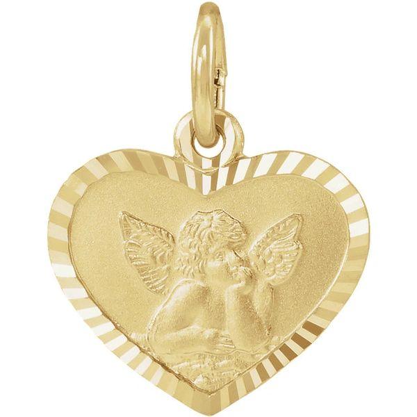 Cherub Heart Pendant