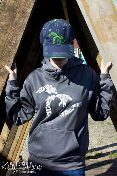 Ludington Tailgate Hoody (Charcoal Heather)