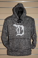 Detroit Michigan D Sweatshirt (Charcoal)