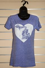 Michigan Heart Crew Neck (Surfer Blue)