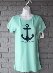 Ludington Mi Anchor Crewneck (Seaglass)