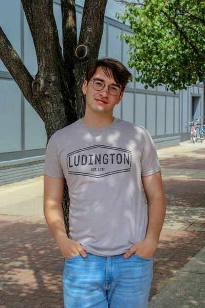 Ludington Hexagon Tee (Slate)