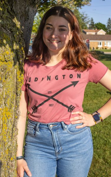 Women's Cali Crop Top Tee Ludington (Smoked Paprika)
