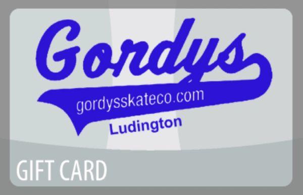 Gordys Gift Card