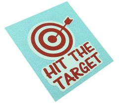 HIT THE SPOT decal