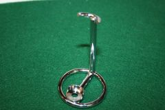 Chrome Wire Razor Stand for Safety, Fusion and Mach 3 Razors