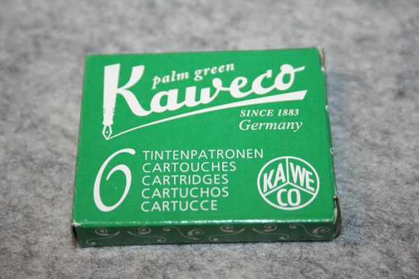 Kaweco Ink Cartridges - Palm Green