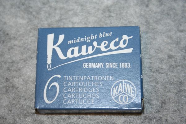 Kaweco Ink Cartridges - Midnight Blue Fountain Pen Ink