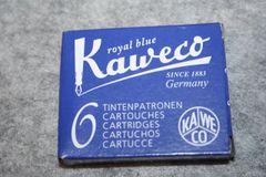 Kaweco Fountain Pen Ink Cartridges - Royal Blue